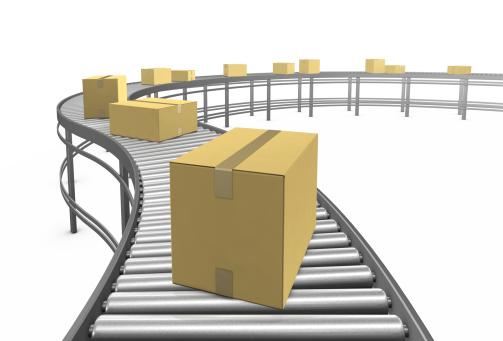 Belt「Cardboard boxes. 3D render.」:スマホ壁紙(13)