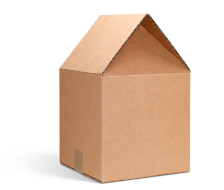 For Sale「Cardboard box shaped house.」:スマホ壁紙(0)