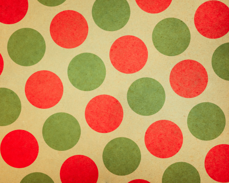 Art And Craft「paper with large red and green dots」:スマホ壁紙(1)