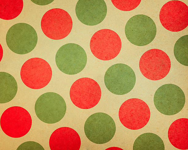 paper with large red and green dots:スマホ壁紙(壁紙.com)