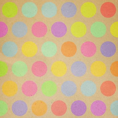 虹「紙、ランダムカラーの水玉模様」:スマホ壁紙(4)