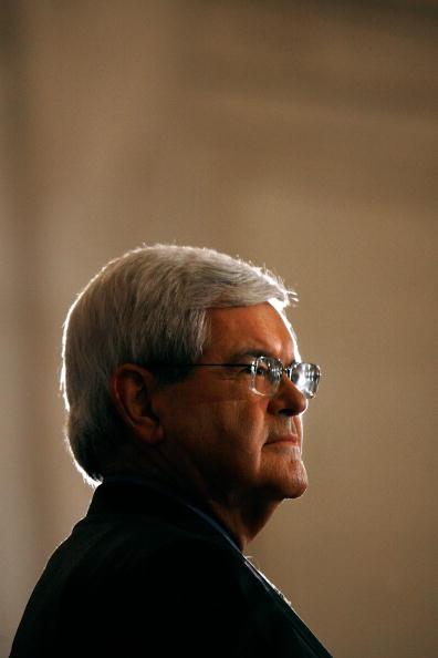 Chip Somodevilla「Kerry And Gingrich Debate Climate Change」:写真・画像(19)[壁紙.com]