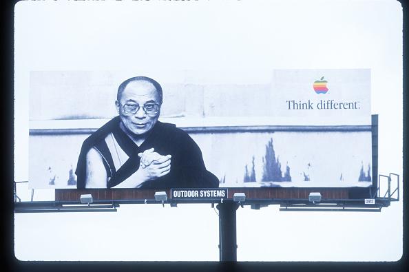 Apple Macintosh「Dalai Lama Used In Apple Billboard Ad」:写真・画像(4)[壁紙.com]
