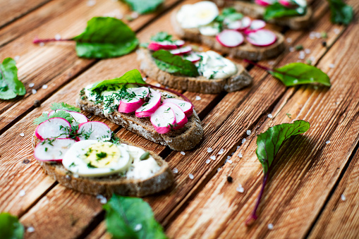 Radish「Sandwich with radish and feta cheese」:スマホ壁紙(7)