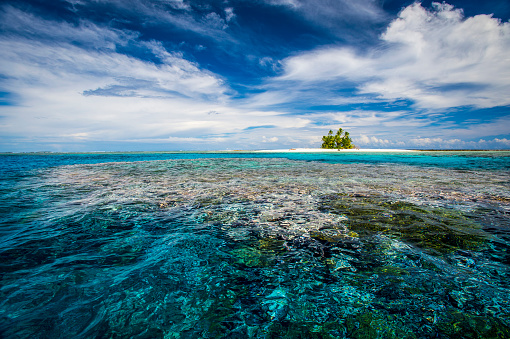 Shallow「An island that forms part of the marine park, near the Tuvalu mainland」:スマホ壁紙(14)