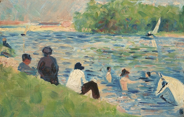 "Water's Edge「Bathers (Study For ""Bathers At Asnières"")」:写真・画像(19)[壁紙.com]"