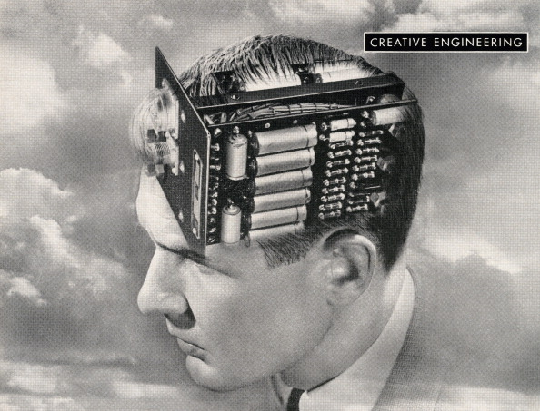 Creativity「Man With Circuit Board Brain」:写真・画像(7)[壁紙.com]