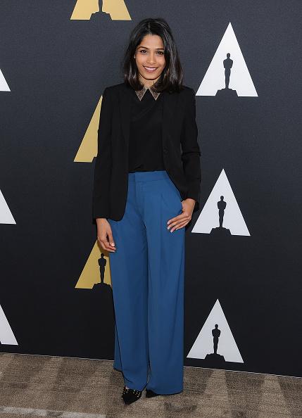 Freida Pinto「Academy Nicholl Fellowships Screenwriting Awards - Arrivals」:写真・画像(14)[壁紙.com]