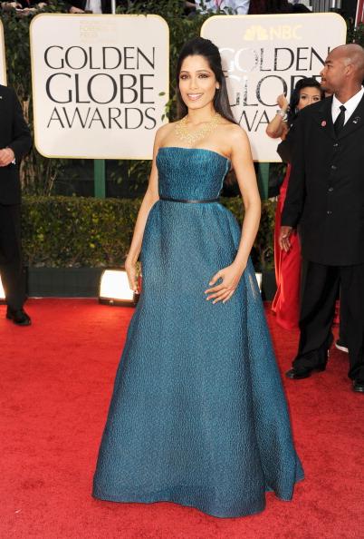 Strapless Evening Gown「69th Annual Golden Globe Awards - Arrivals」:写真・画像(18)[壁紙.com]