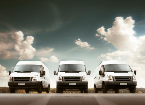 Driving「Delivery trucks」:スマホ壁紙(1)