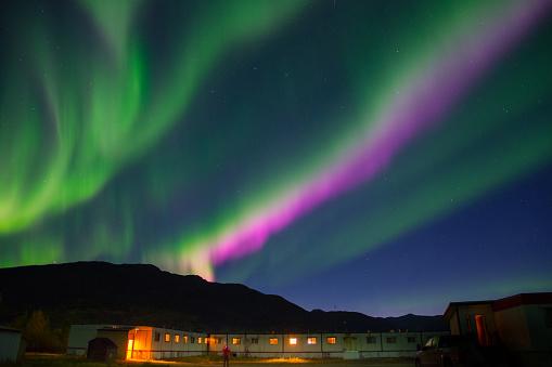 Finnish Lapland「Colorful Aurora Borealis」:スマホ壁紙(19)