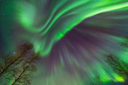 Frozen「Colorful Aurora Borealis」:スマホ壁紙(7)