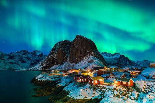 Iceland「Colorful Aurora Borealis」:スマホ壁紙(19)