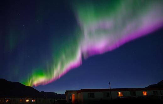 Finland「Colorful Aurora Borealis」:スマホ壁紙(2)