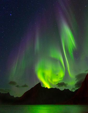 Finland「Colorful Aurora Borealis」:スマホ壁紙(7)