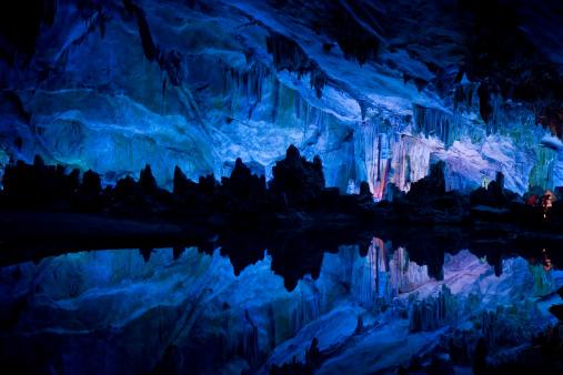 Limestone「Reed Flute Caves in Guilin」:スマホ壁紙(12)