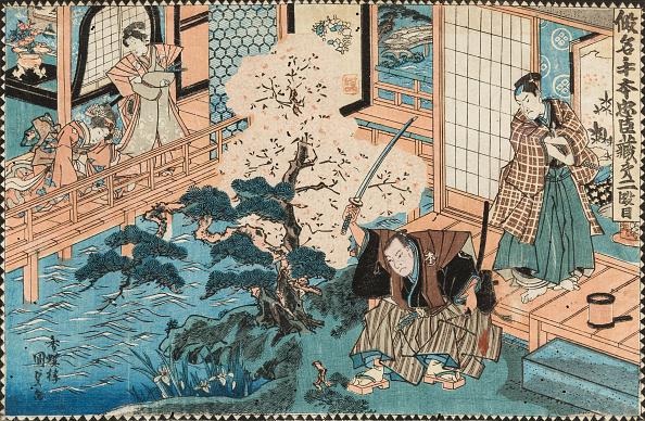 江戸時代「The Tale Of The Forty-Seven Ronin. Kakogawa Honzo And Momonoi Wakasanosuke」:写真・画像(10)[壁紙.com]
