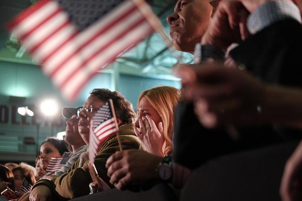 Teardrop「Democratic Presidential Candidate Joe Biden Holds South Carolina Primary Night Event In Columbia」:写真・画像(7)[壁紙.com]