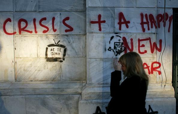 Graffiti「New Riots Break Out In Greek Capital」:写真・画像(18)[壁紙.com]
