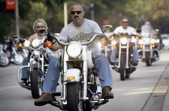 North America「Harley Davidson Celebrates 100 Years Of Motorcycles」:写真・画像(19)[壁紙.com]