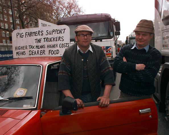 Participant「Fuel Tax Protest」:写真・画像(5)[壁紙.com]