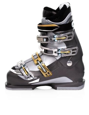 スキーブーツ「Grey ski boot」:スマホ壁紙(2)