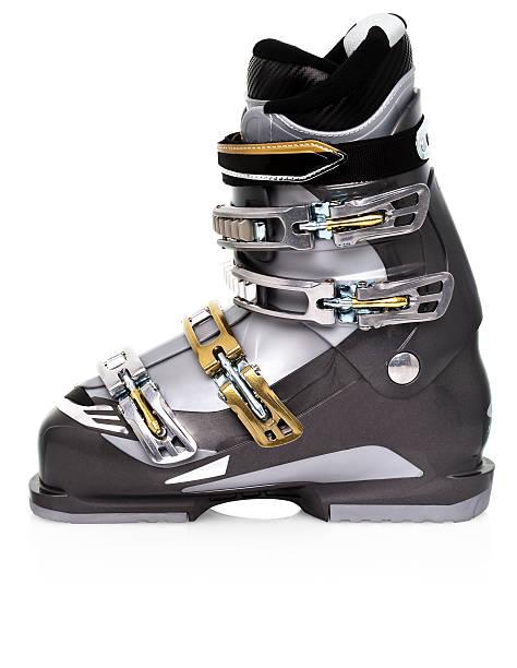 Grey ski boot:スマホ壁紙(壁紙.com)