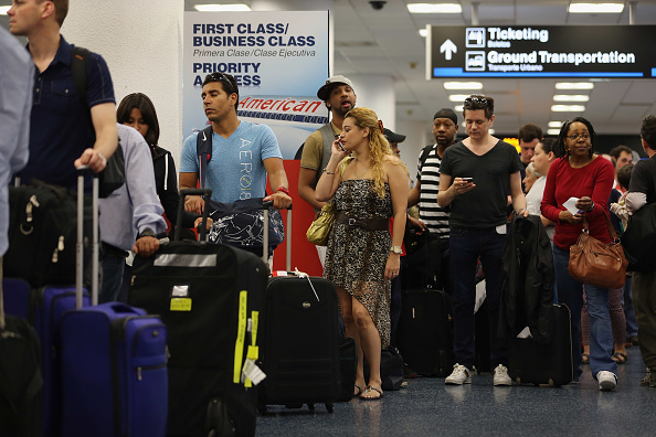 Passenger「Computer Outage Grounds All American Airlines Flights In U.S.」:写真・画像(17)[壁紙.com]