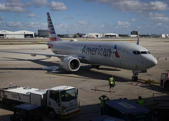 American Airlines「Boeing 737 Max Public Flights Resume As American Airlines Flies From Miami To New York」:写真・画像(17)[壁紙.com]