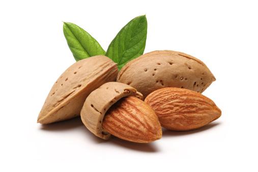 Nut - Food「Almonds」:スマホ壁紙(17)