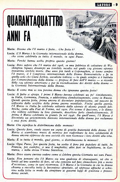 Fototeca Storica Nazionale「INTERNATIONAL WOMEN'S DAY」:写真・画像(5)[壁紙.com]
