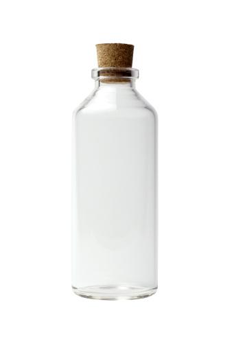 透明「空のボトル」:スマホ壁紙(8)