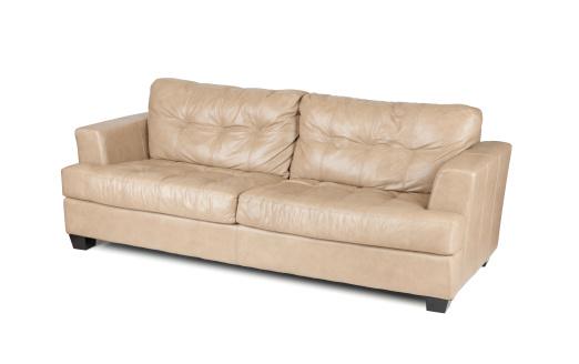 Sofa「Tan Leather Sofa」:スマホ壁紙(6)