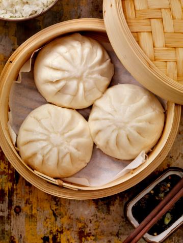 Chinese Steamed Bun「Steamed Pork Buns」:スマホ壁紙(11)