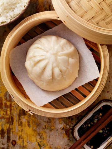Chinese Steamed Bun「Steamed Pork Buns」:スマホ壁紙(1)