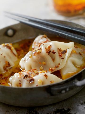 Dumpling「Steamed Pork Dumplings in Chili Oil」:スマホ壁紙(16)