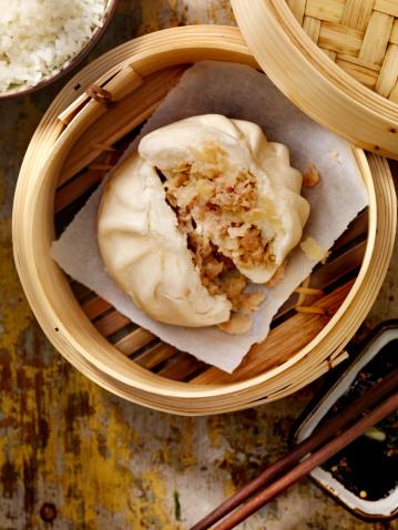 Chinese Steamed Bun「Steamed Pork Bun」:スマホ壁紙(5)