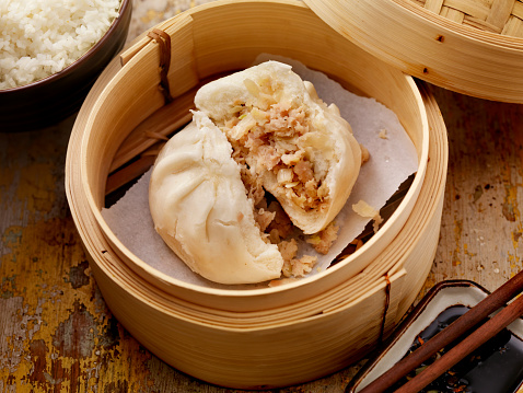 Chinese Steamed Bun「Steamed Pork Bun」:スマホ壁紙(3)
