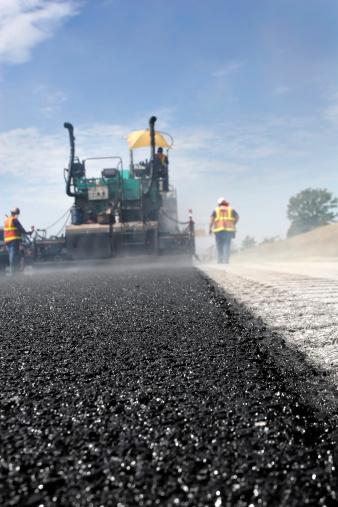Road Construction「Road Work Asphalt」:スマホ壁紙(12)