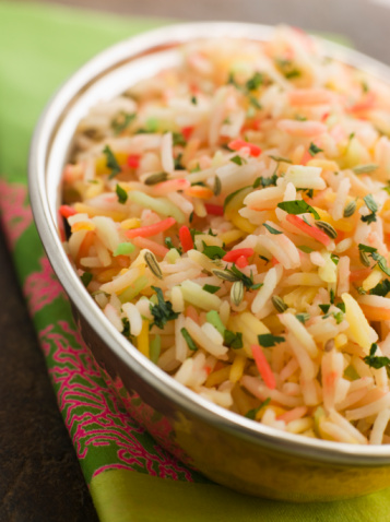 Basmati Rice「Three Coloured Basmati Pilau」:スマホ壁紙(16)