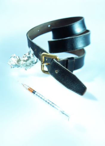 Belt「close-up view of leather belt with wrapper and narcotic injection」:スマホ壁紙(9)