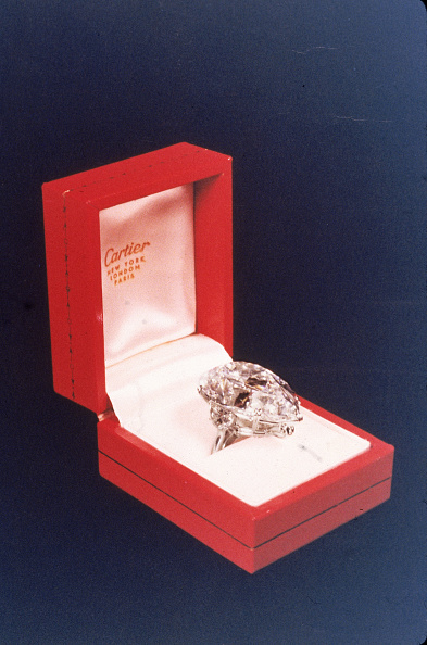ダイヤモンド「Cartier Diamond Bought By Burton For Taylor」:写真・画像(4)[壁紙.com]