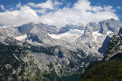 Dachstein Mountains「Close-up view of Dachstein glacier in Salzkammergut, Upper Austria」:スマホ壁紙(2)