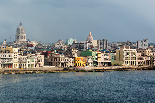 Old Havana「Close-up view of Old Havana with the Capitol dome.」:スマホ壁紙(6)