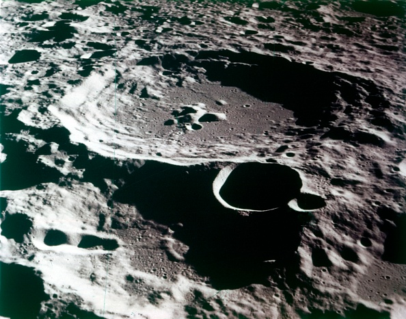 Textured「Close-Up View Of A Crater On The Surface Of The Moon. Creator: Nasa.」:写真・画像(12)[壁紙.com]