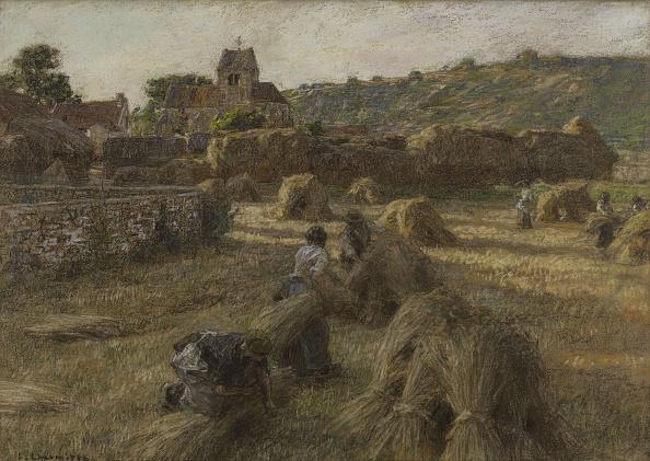 Agricultural Field「Harvest. The Sheaf-Binders.」:写真・画像(14)[壁紙.com]