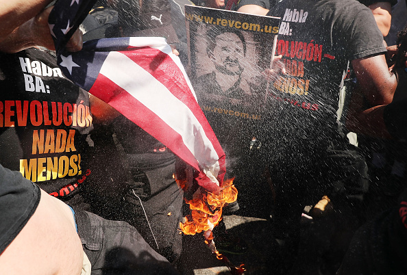 オハイオ州 クリーブランド「Protestors Rally Outside Republican National Convention In Cleveland」:写真・画像(4)[壁紙.com]