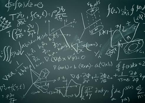 Mathematical Symbol「Complicated mathematical formulas」:スマホ壁紙(12)