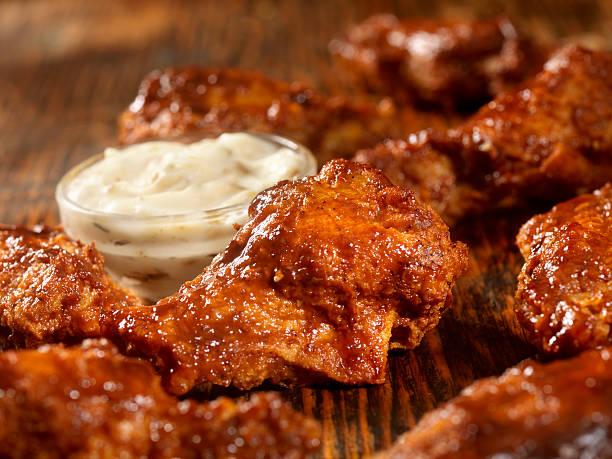 BBQ Sauce Chicken Wings:スマホ壁紙(壁紙.com)