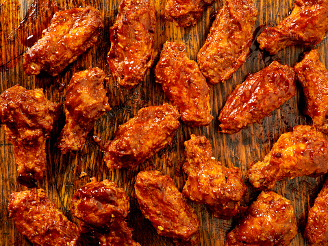 Ranch Dressing「BBQ Sauce Chicken Wings」:スマホ壁紙(7)